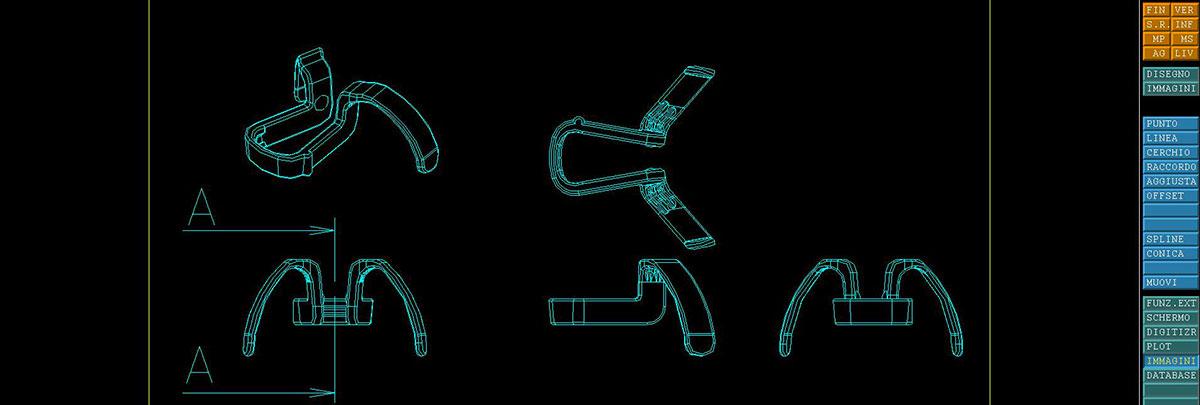 Progetti dilatatori nasali