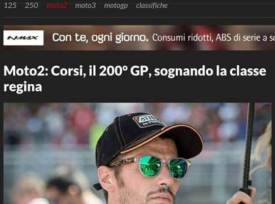 Motosprint, 9 luglio 2015 (Simone Corsi, Moto 2)